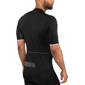 Alé Cycling Solid Color Block Maillot manches courtes Homme, black